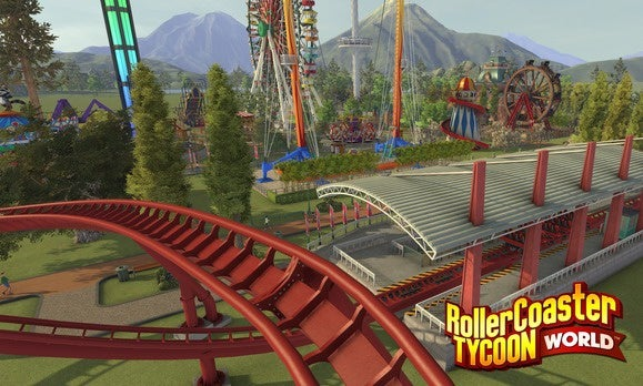 RollerCoaster Tycoon World preview: A wild(ly easy to get