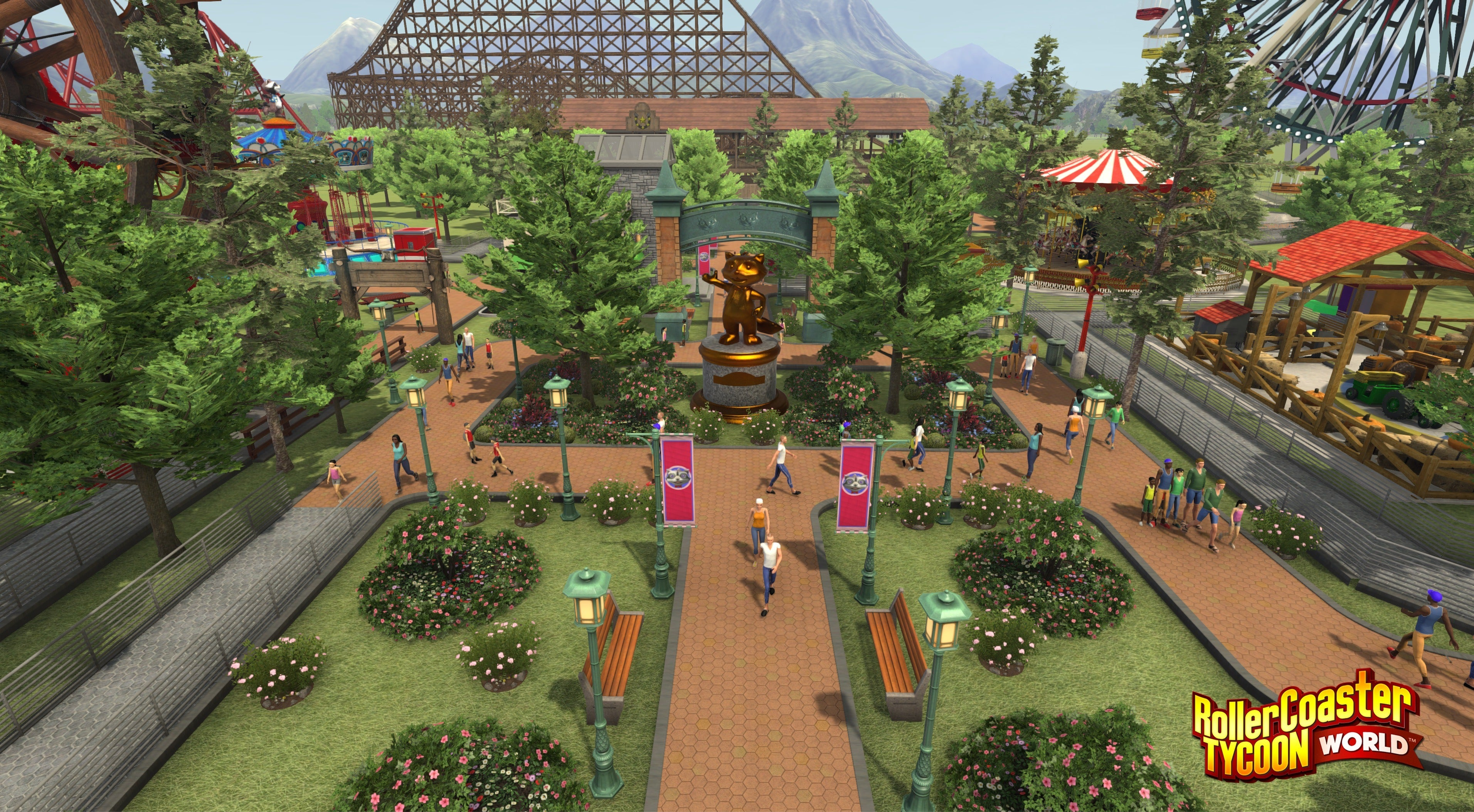RollerCoaster Tycoon World preview: A wild(ly easy to get into) ride