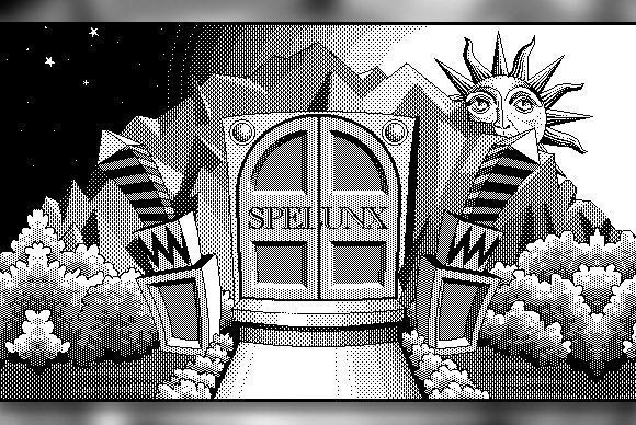 Spelunx and Caves of Mr. Seudo