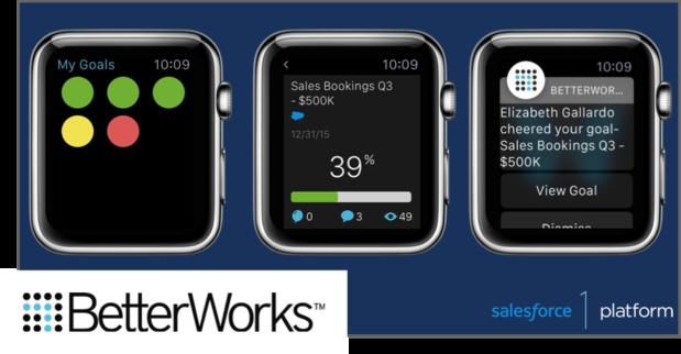BetterWorks Wear app