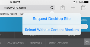 blockers reload without
