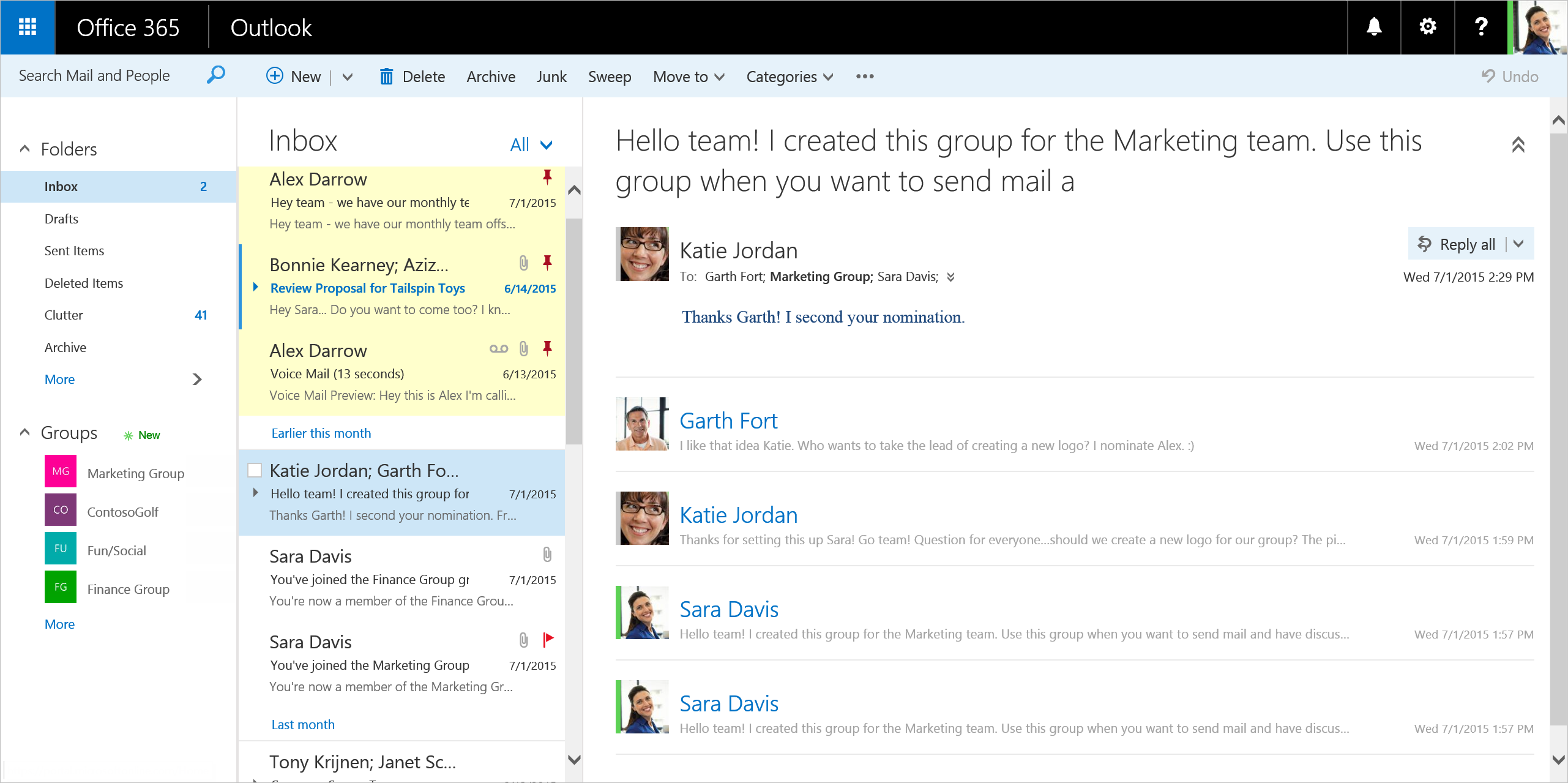 Outlook: Office 365's Outlook Web Interface Spruces Up With New