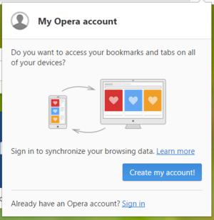 browser opera signin