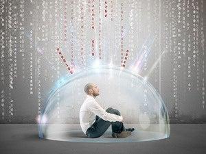 bubble man data shield attack binary code