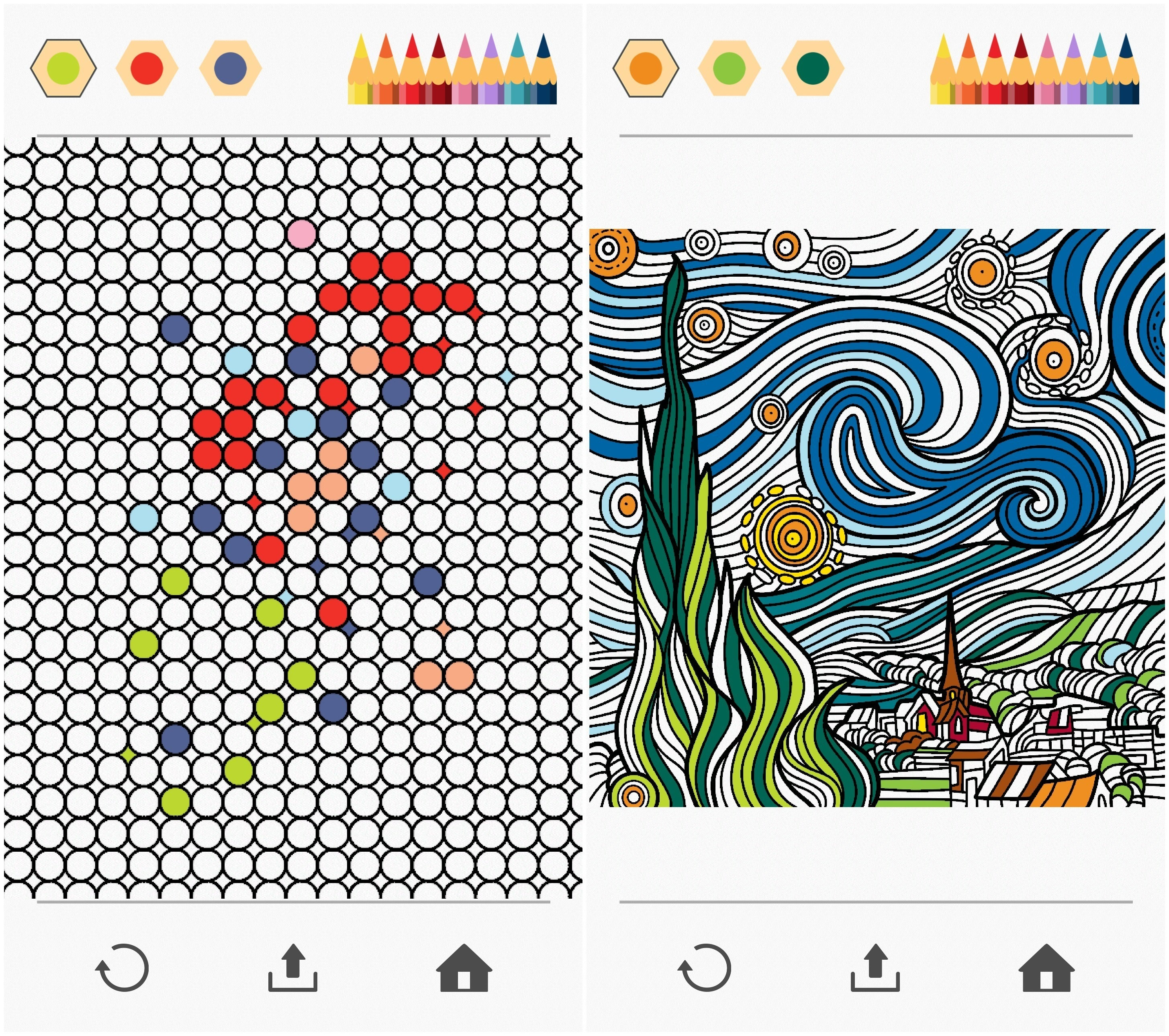 Colorfy Adult Coloring Books