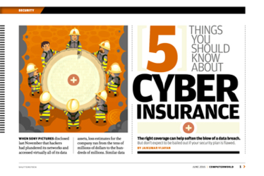 5 things you need to  know about cyber insurance