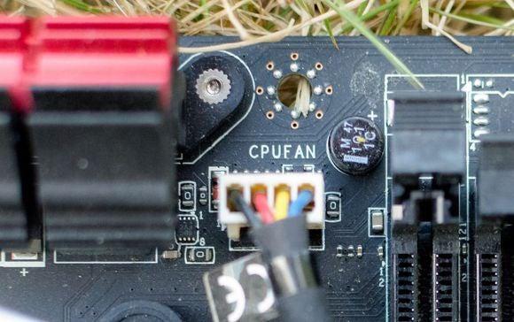 cpu fan install
