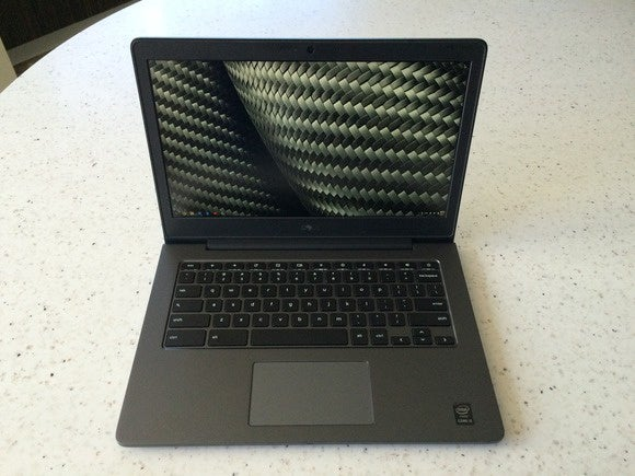 dell chromebook 13 front