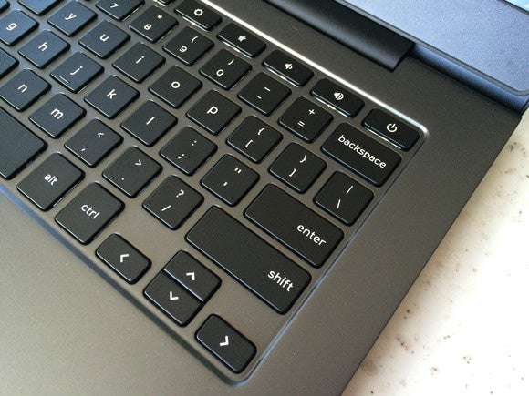 dell chromebook 13 keyboard detail