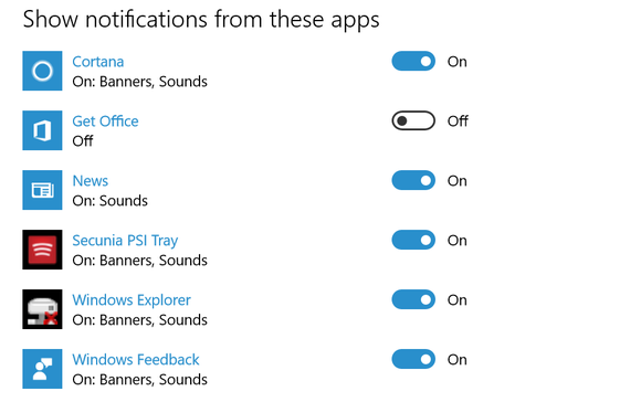 disable get office notifications