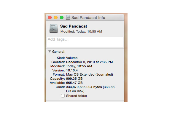How To Check Your Mac 39 S Free Hard Drive Space Macworld