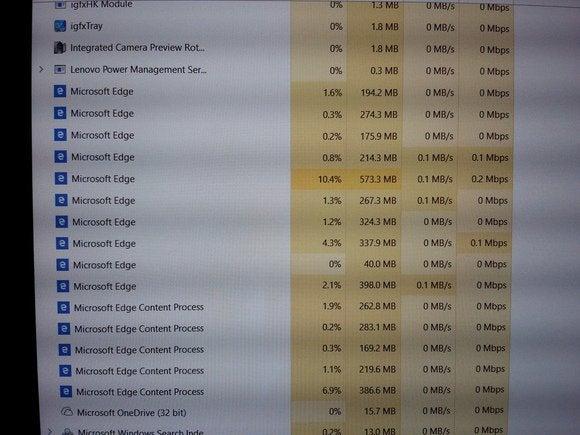 Microsoft edge background processes