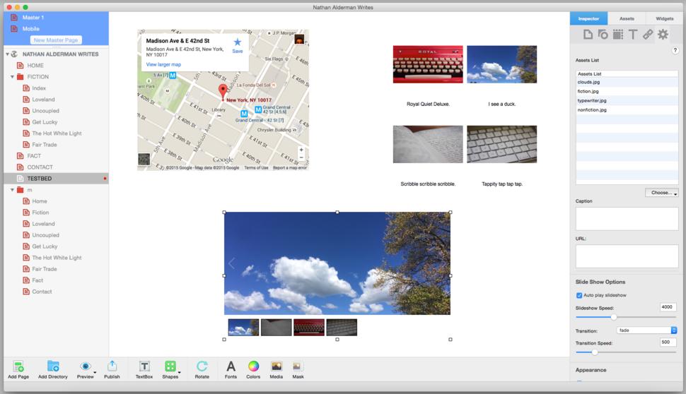 Everweb mac
