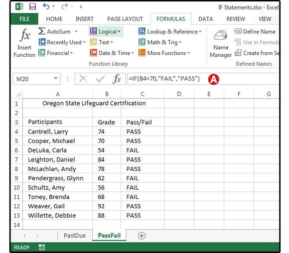 excel logical formulas screen2