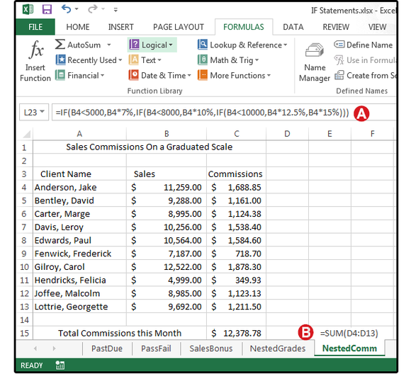 excel logical formulas screen5