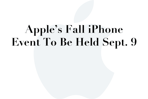 fall iphone event