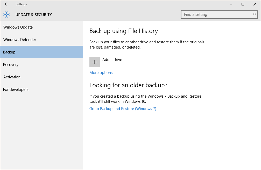 How To Use Windows 10 S File History Backup Feature Pcworld