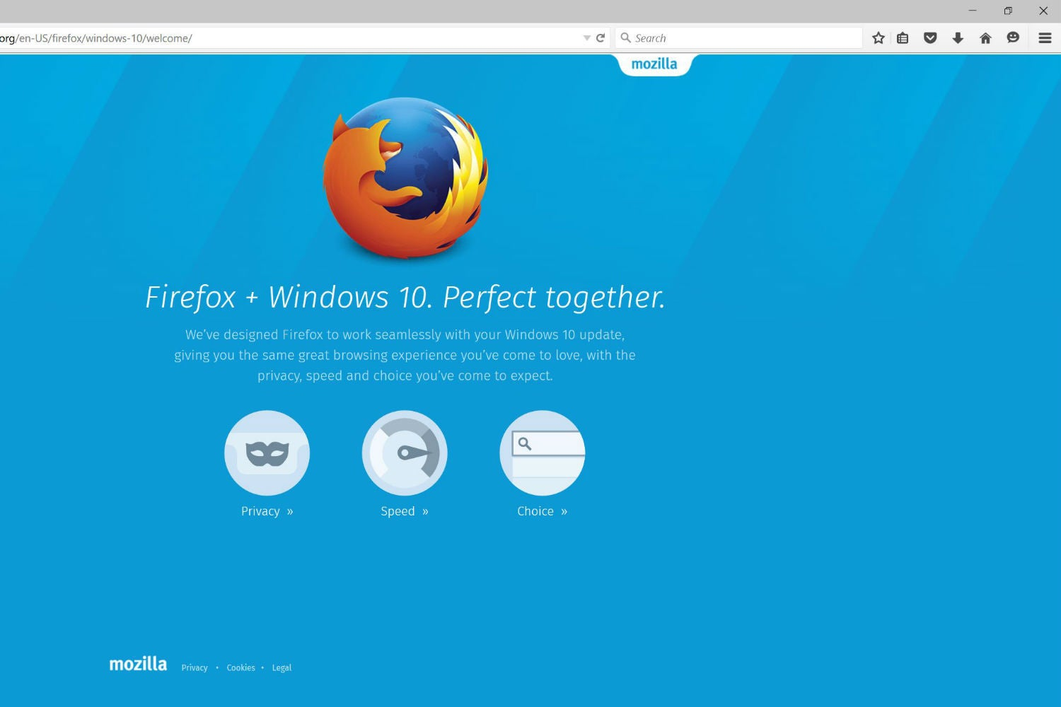 firefox sticks it to microsoft redirects cortana searches in windows 10 pcworld
