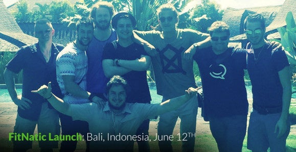 FitNatic team in Bali