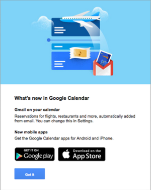 gmail events in calendarweb
