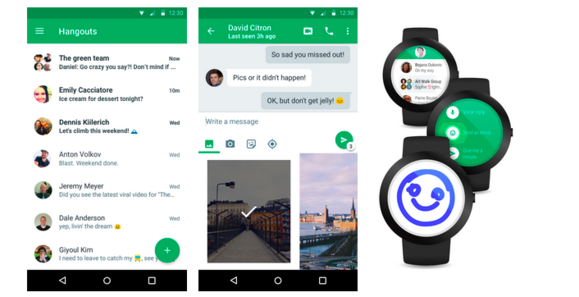 hangouts android 4.0