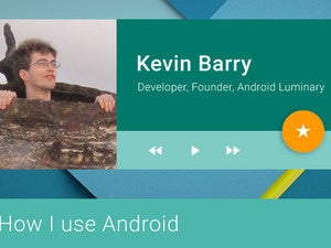 How I Use Android: Kevin Barry