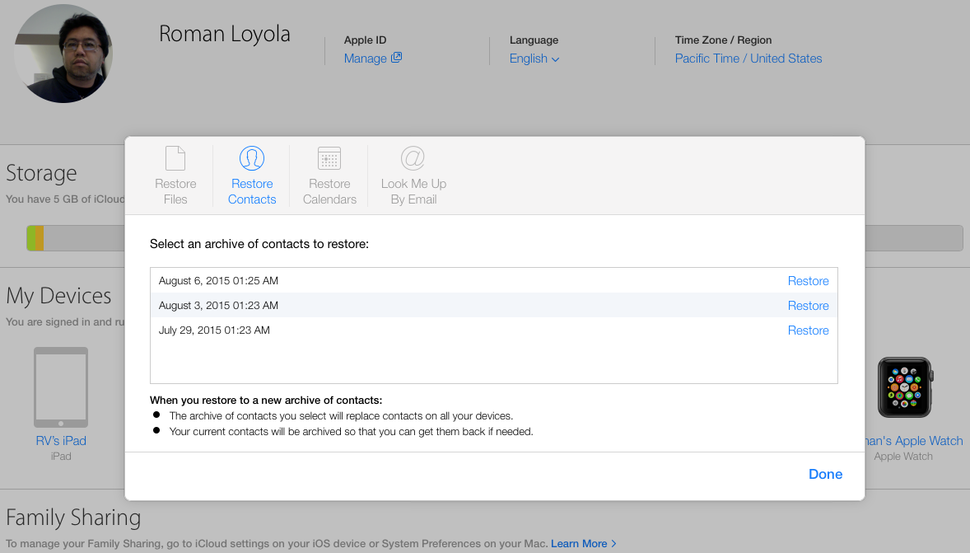Apple updates iCloud with new features to restore lost data