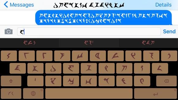 Klingon SwipeKeys