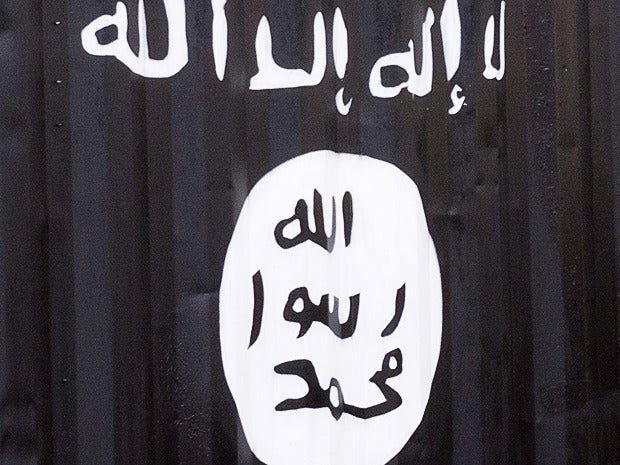 isis flag graphic