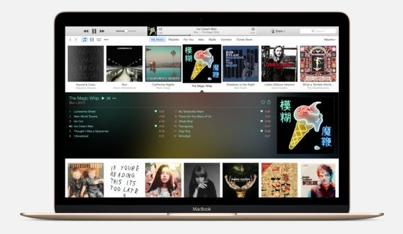 itunes12 macbook