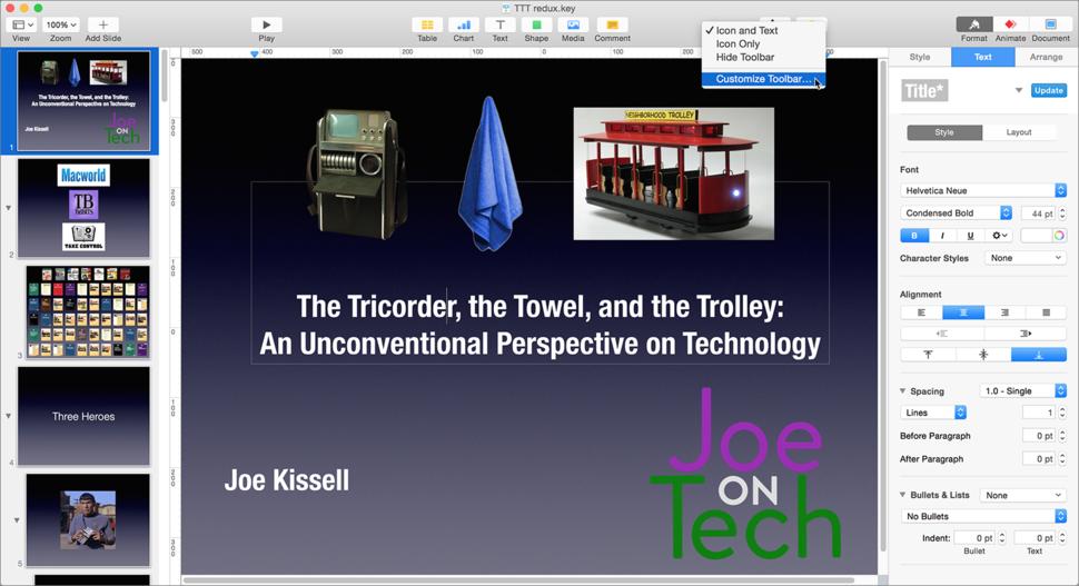 Keynote for Mac 6.5.3 review: Gradual improvements make it more ...