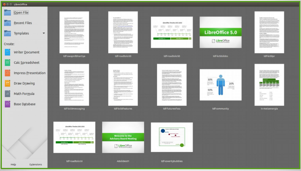 Libreoffice aims new free office suite at huge installed - Open office free download for windows 7 ...