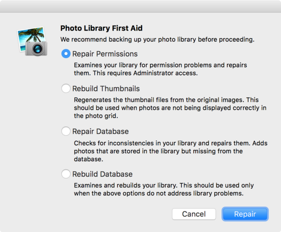 mac 911 iphotos rebuild