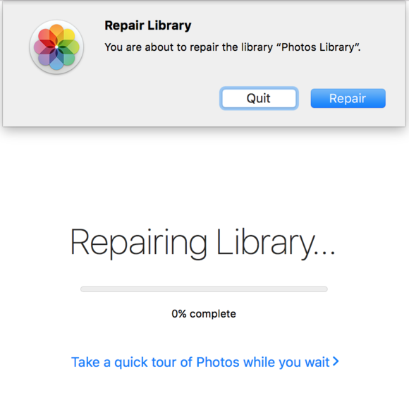mac 911 photos repair