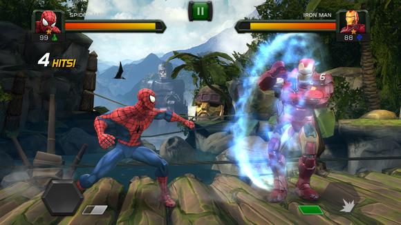marvel clash of champions avengers