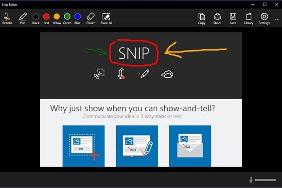 Microsoft Snip Lets You Quickly Annotate And Add Audio To