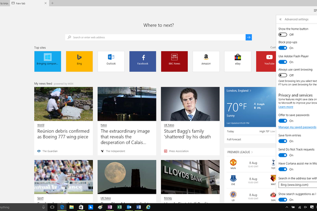 review  is microsoft u2019s edge browser ready for business