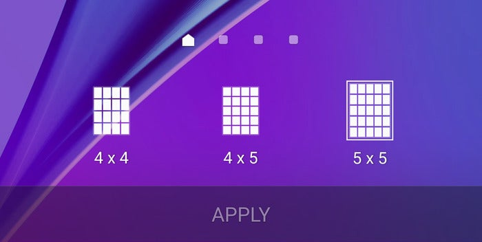 note 5 grid