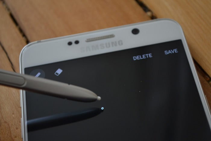 note 5 screen off
