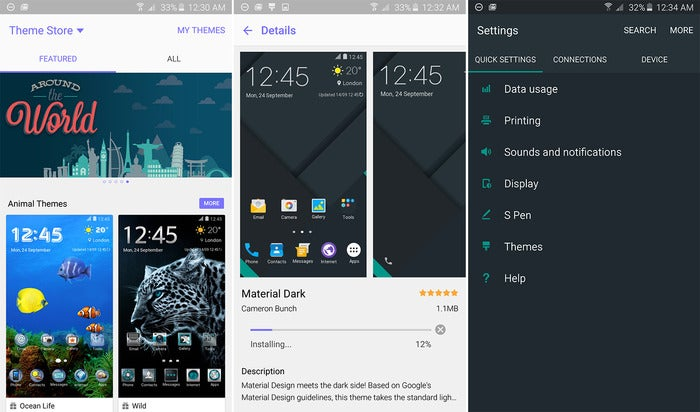 note 5 themes