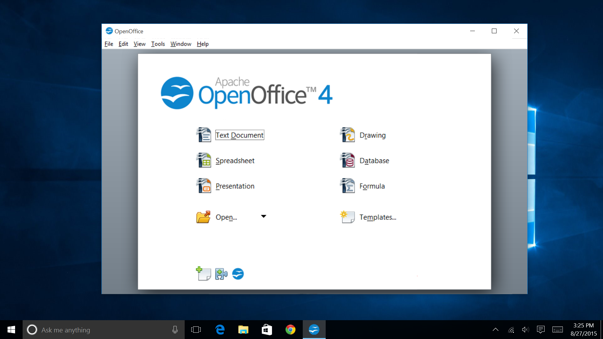 OpenOffice - Free Download for Windows 10 64 bit / 32 bit
