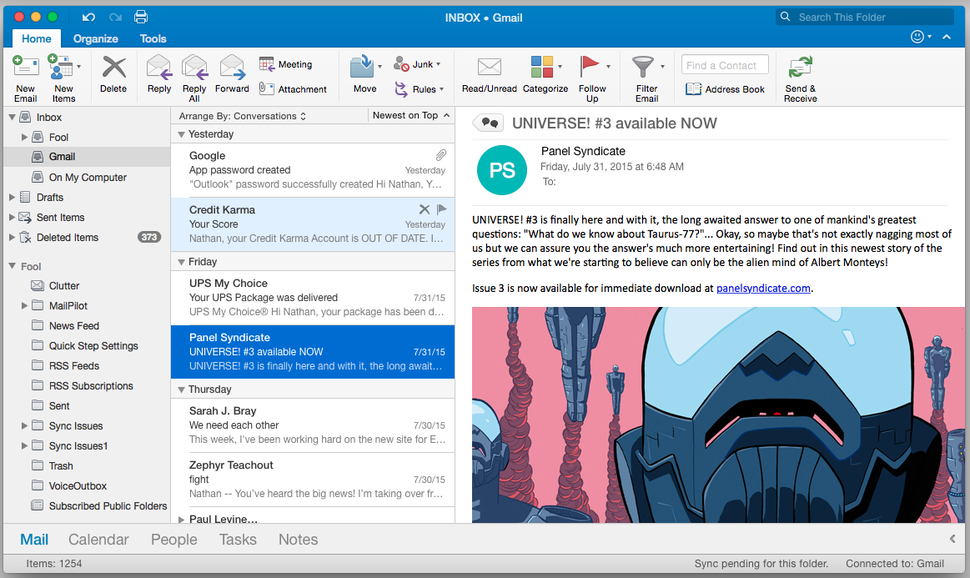 Outlook 2016 review: A new coat of paint on the same reliable personal  information manager | Macworld
