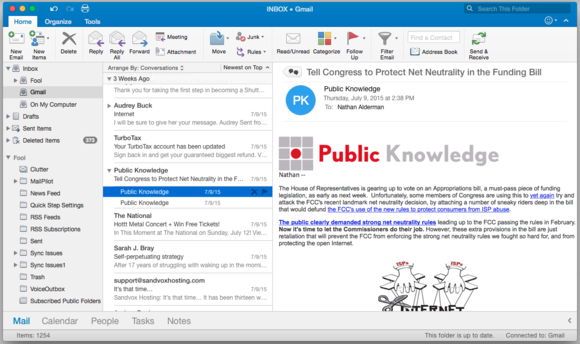Outlook 2016 for Mac
