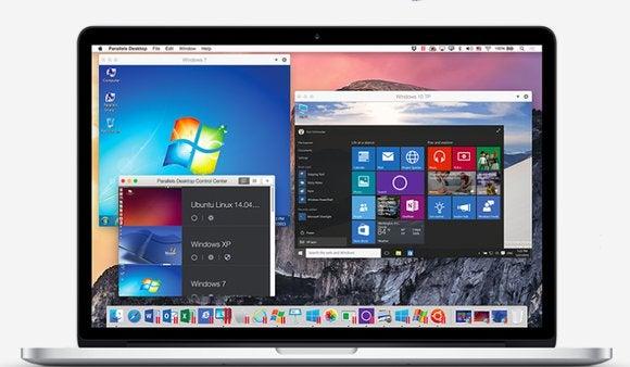 parallels 11 macbookpro