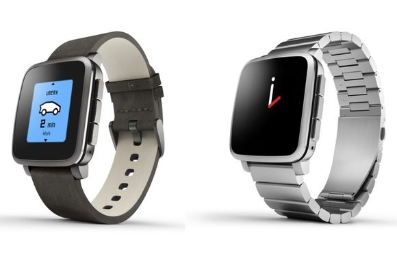 Pebble Time Steel smartwatch goes up for pre-order as ...