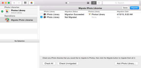 powerphotos iphotos migration