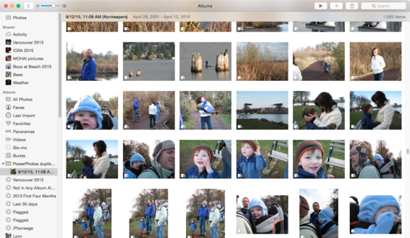 powerphotos photos duplicate folder