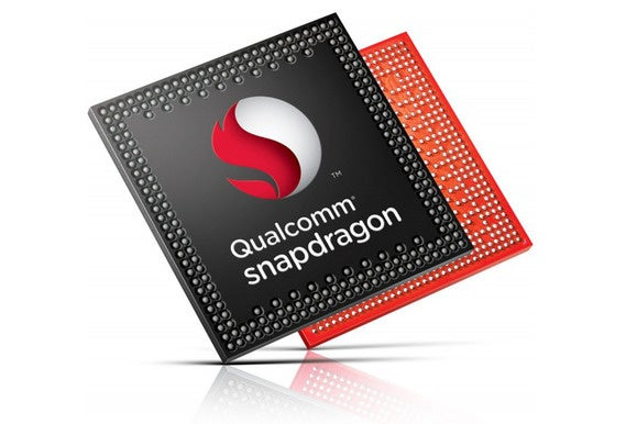 Qualcomm's Snapdragon logo.