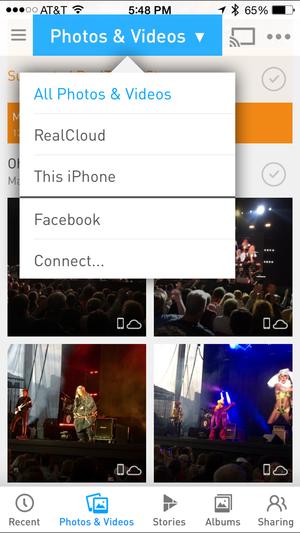 realtimes photos and videos