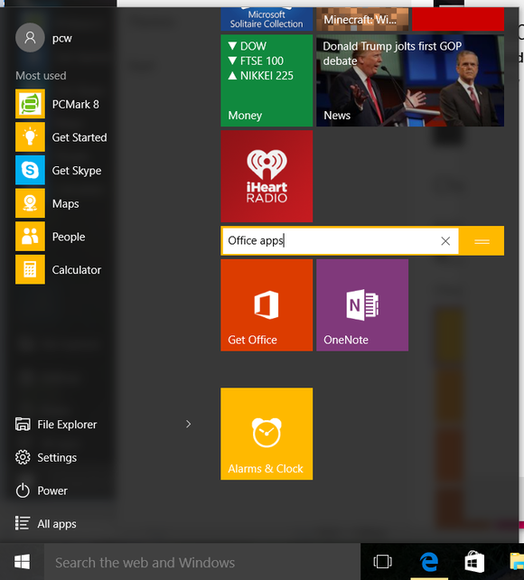 rename live tile groups